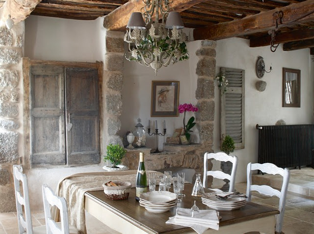 Dream vintage designs and inspiration french decor - Decoration maison de campagne ...