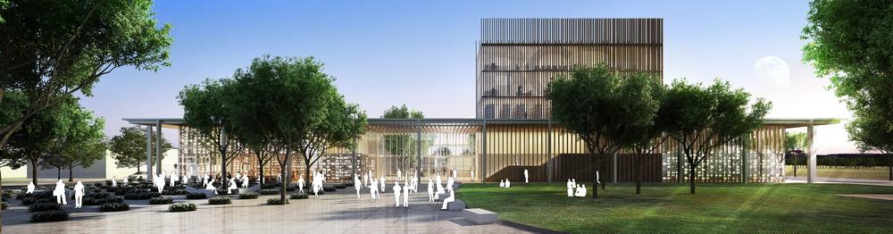 Vivo arquitectura biblioteca bicentenario de rosario for Arquitectura rosario