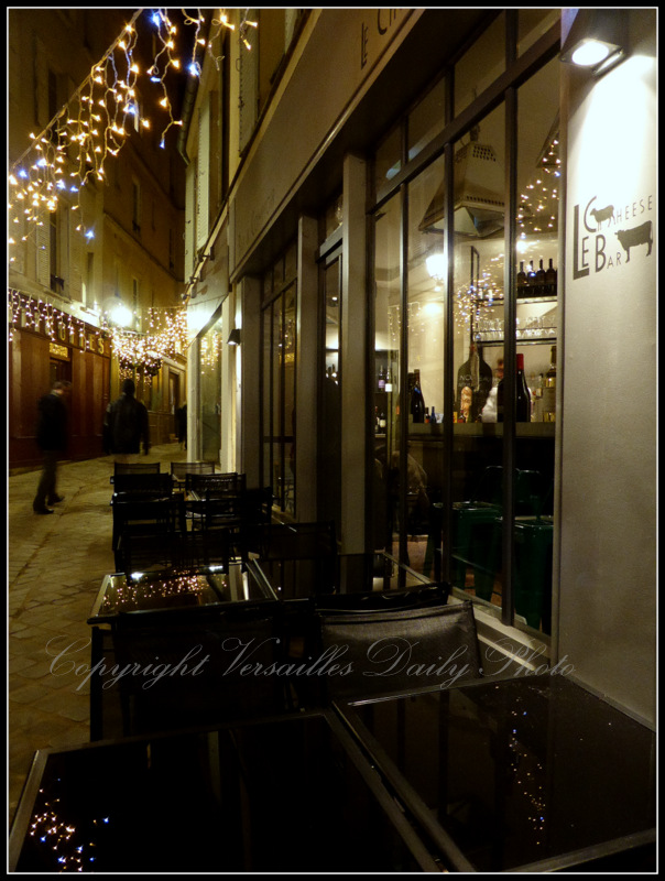 Cheese bar passage Saladin Versailles Christmas