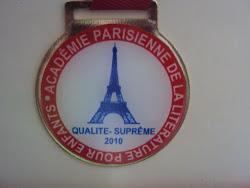 Prêmio em Paris - Literatura Infantil
