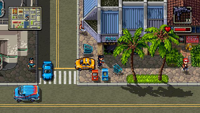 Shakedown Hawaii, la nueva aventura de 'mundo abierto' 2D del creador de Retro City Rampage