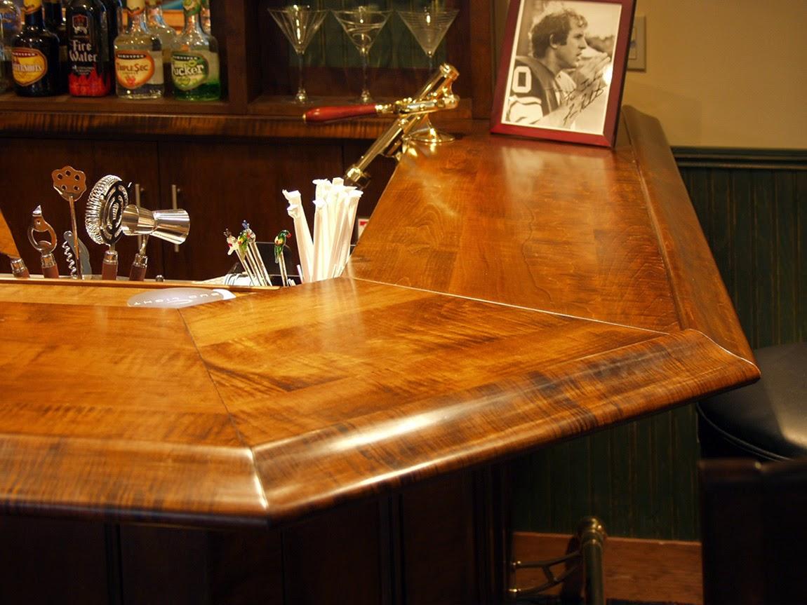 Dorset Custom Furniture - A Woodworkers Photo Journal: a bar