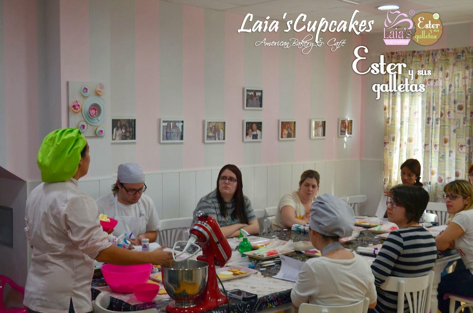 Galletas de glasas en Laia's Cupcakes. Puerto de Sagunto