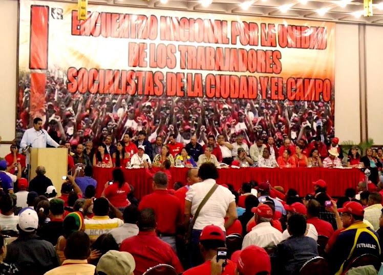 Encuentro Nacional  por la Unidad de los Trabajadores Socialistas de la Ciudad y el Campo