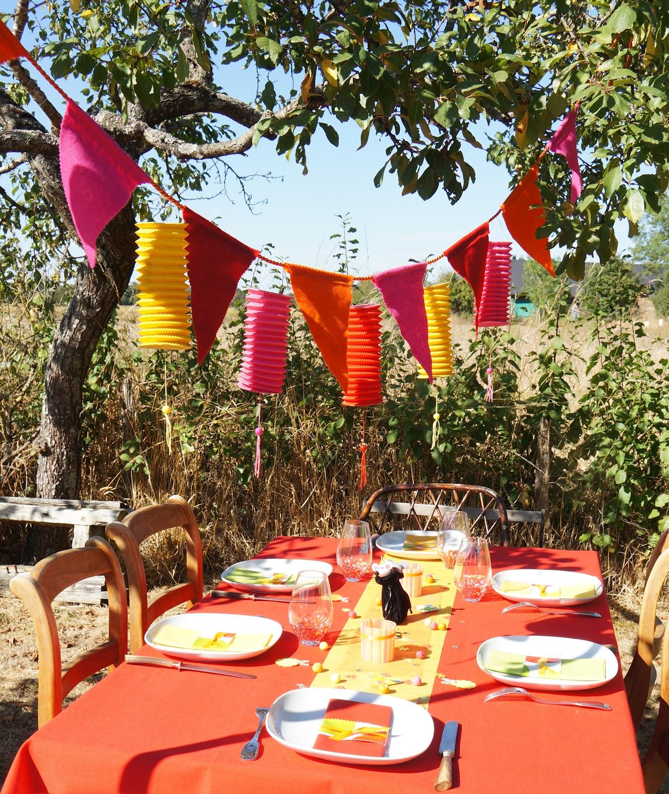 Ma boutique d co table d coration de table jouyeux anniversaire - Anniversaire jardin d acclimatation ...