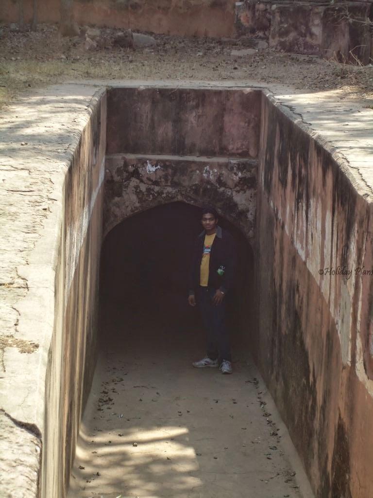 Kaalkothri Pathway in jaigarh fort jaipur