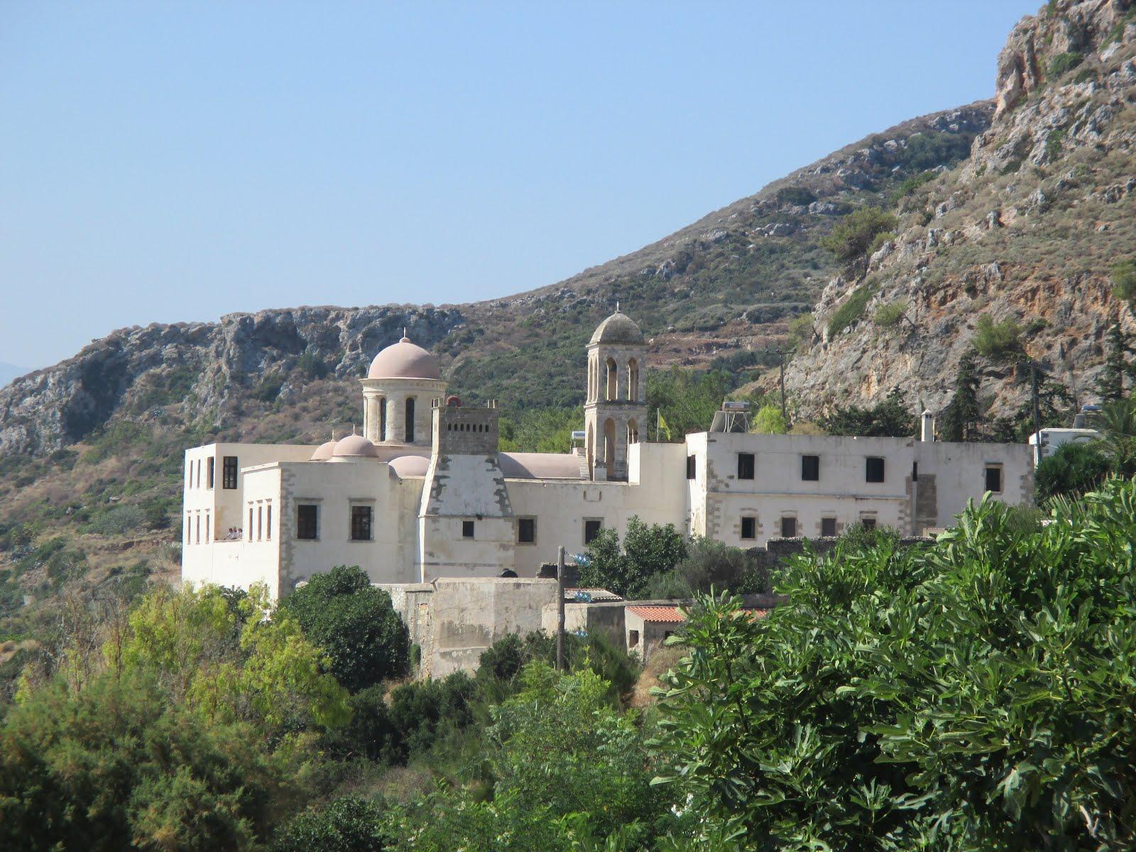 Gonia Monastery, Kolymvari, Crete, July 2015