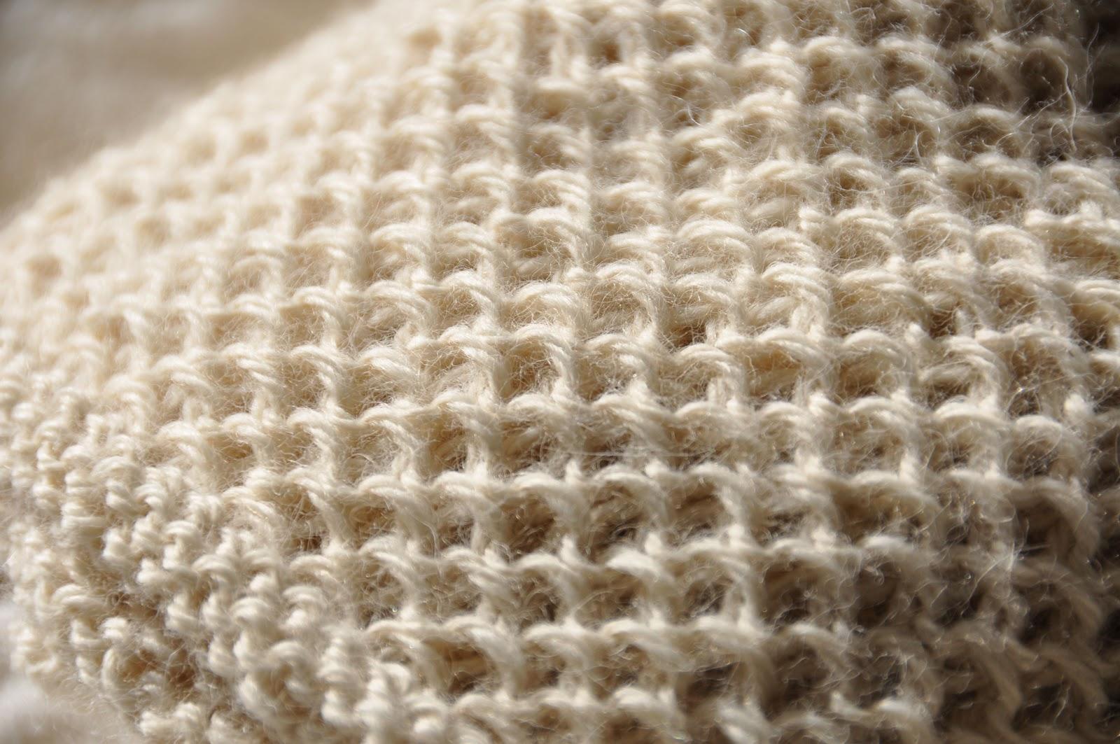 comment tricoter les rayons de miel