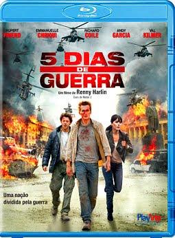 Filme Poster 5 Dias de Guerra BDRip XviD Dual Audio & RMVB Dublado
