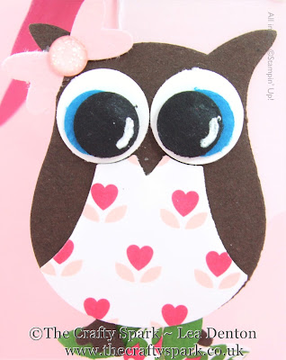 owl builder punch stampin up uk