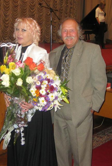 Лилия Золотоноша и Виталий Бабенко