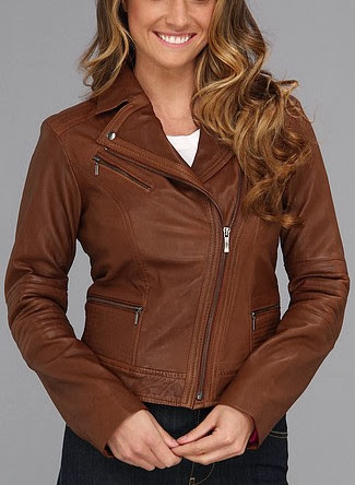 Asymmetrical Moto Jacket For Women