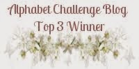 I was top 3 Alphabet challenge