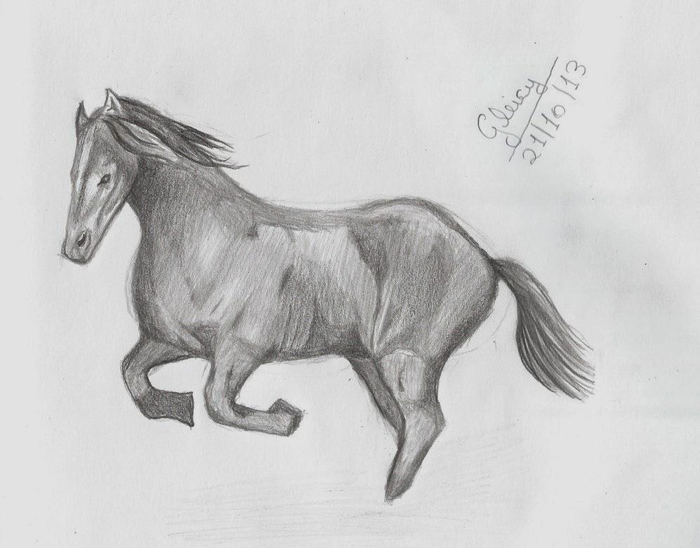 tutorial como desenhar cavalo arte vício