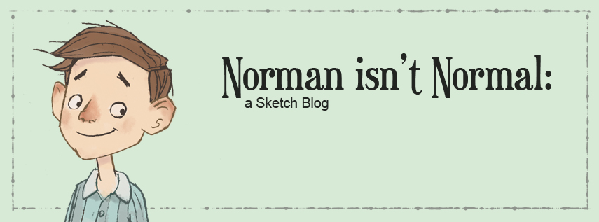 Norman isn't Normal: a Sketch Blog