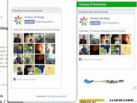 Cara Membuat Widget Like Box dan Fanspage Facebook Melayang