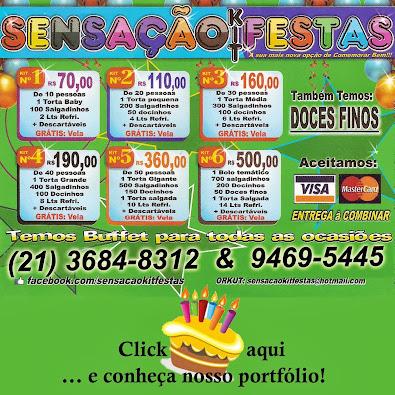 Sensação Kit Festas