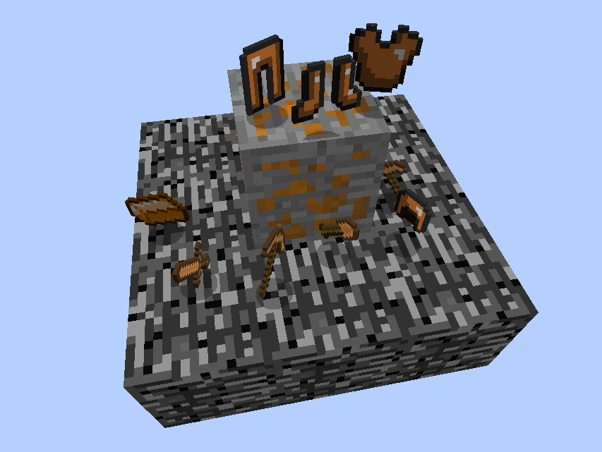 Bronze Ingot | The Lord of the Rings Minecraft Mod Wiki ...