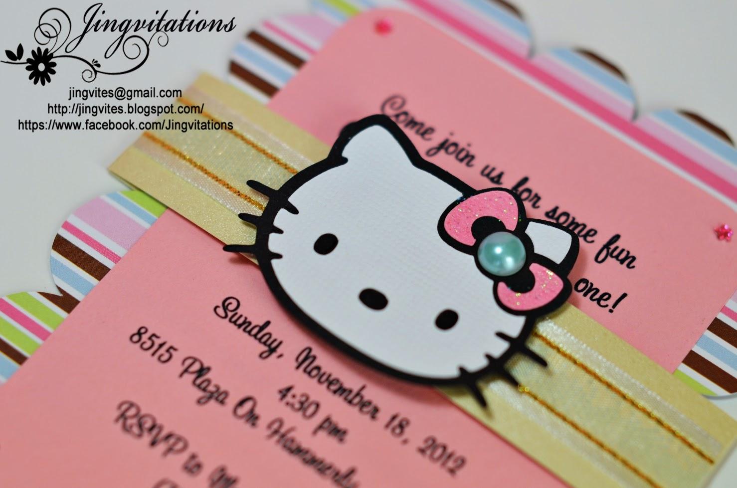 91f5855a90a Jingvitations  Hello Kitty Baby Shower