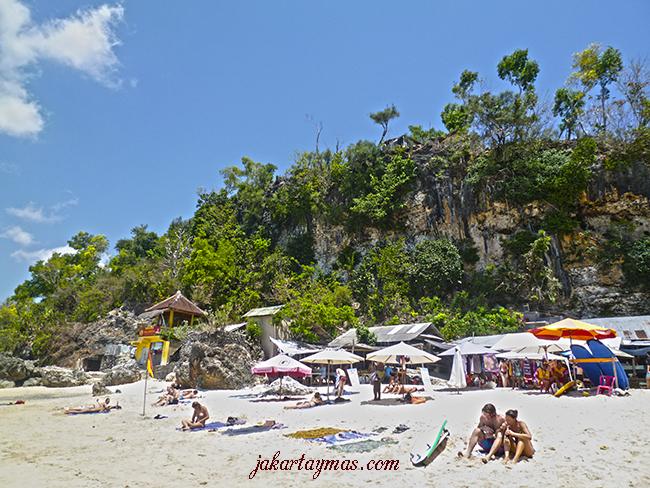 Playa de Padang-Padang en Bali