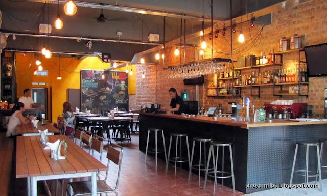 Table 23, Jalan Mesui, Changkat Bukit Bintang, European restaurant, local