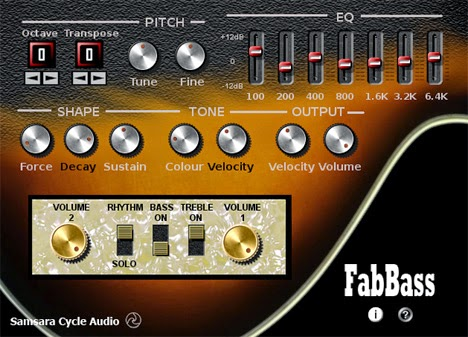 FabBass - Plugin VST de Baixo Grátis