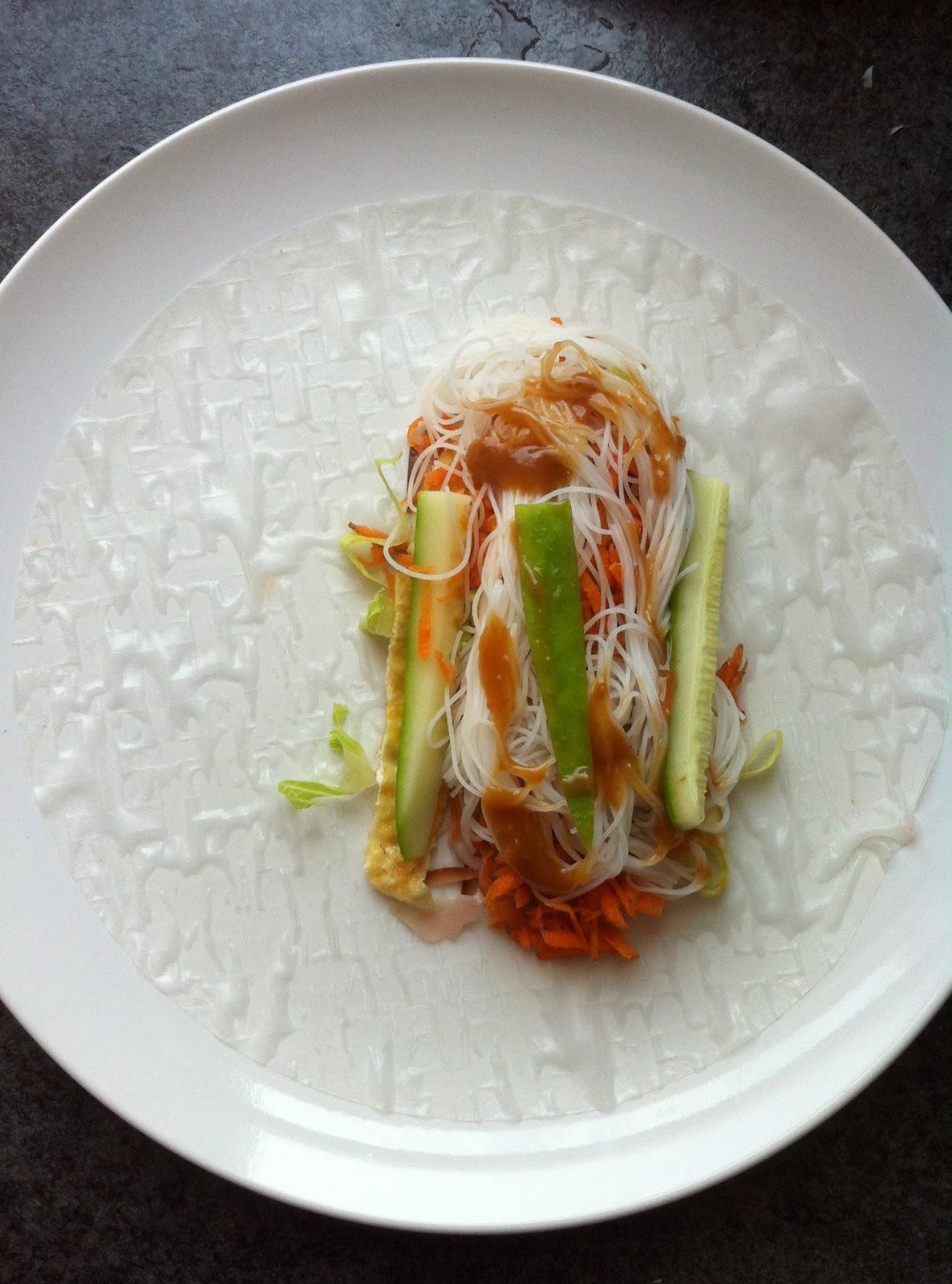 MEL DIN BLOG : VIETNAMESE RICE PAPER ROLLS RECIPE