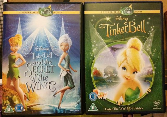 Tinkerbell DVDs