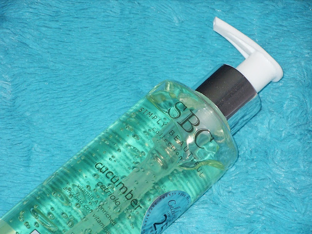 Recenzja: Żel do mycia z wyciągiem z ogórka z witaminą A, Simply Beautiful Collection