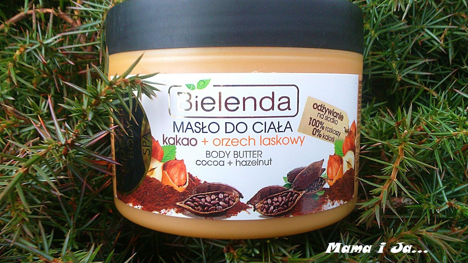 Bielenda, Appetizing Body SPA, Masło do ciała Kakao + orzech laskowy - Drogeria Nina