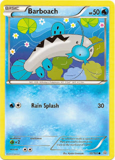 Barboach Primal Clash Pokemon Card