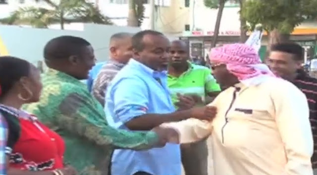 Again! Mike Sonko & Hassan Joho Beef Almost Gets Physical (Video)