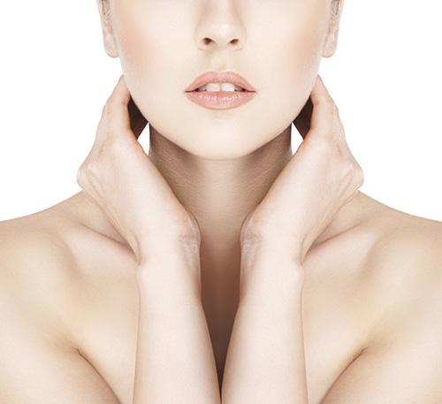 Cách chống nhăn vùng da cổ