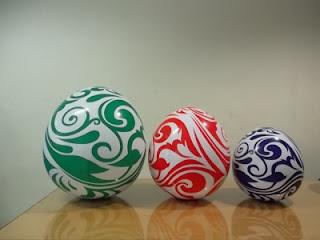 Balon karakter telur paskah