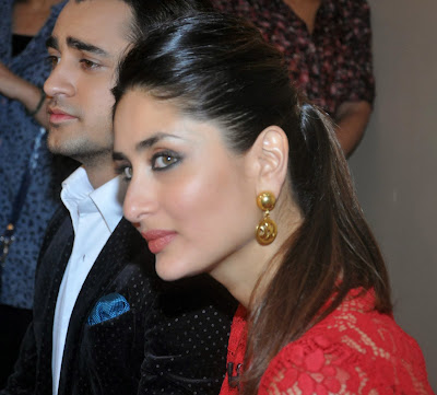 Imran & Kareena on the sets of Kaun Banega Crorepati