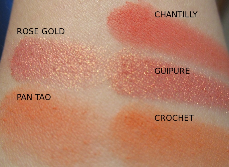 rouge deluxe sleek blush by 3 lace