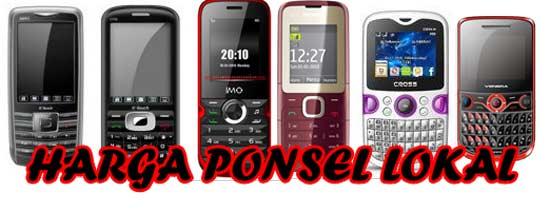 Daftar Harga Baru dan Bekas Handphone Lokal Cina Agustus 2012 Part 2