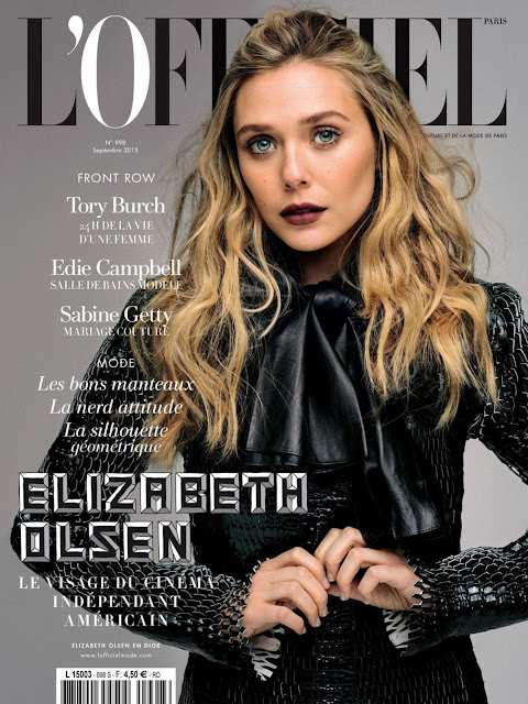 Elizabeth Olsen - L'Officiel Paris September 2015