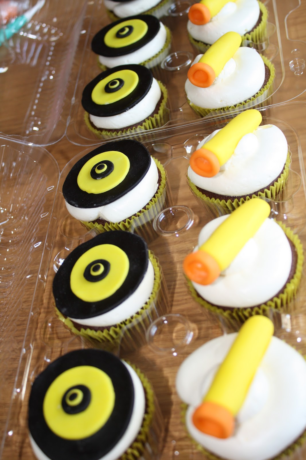 Cc S Cake Decorating Nerf Cupcakes