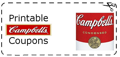 Soup printable coupons are out. Clipping Free Campbells Soup coupon