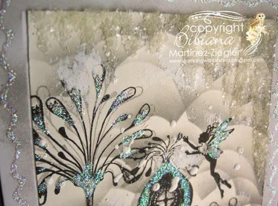 lavinia snow winter scene icicles made with diamond dust