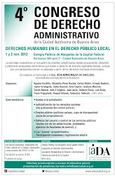 4 Congreso de Derecho Administrativo de la Ciudad de Buenos Aires