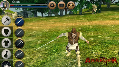 Anargor 3D RPG v2.0 APK + DATA Android Qualcomm (HTC, millet) version zip market google play