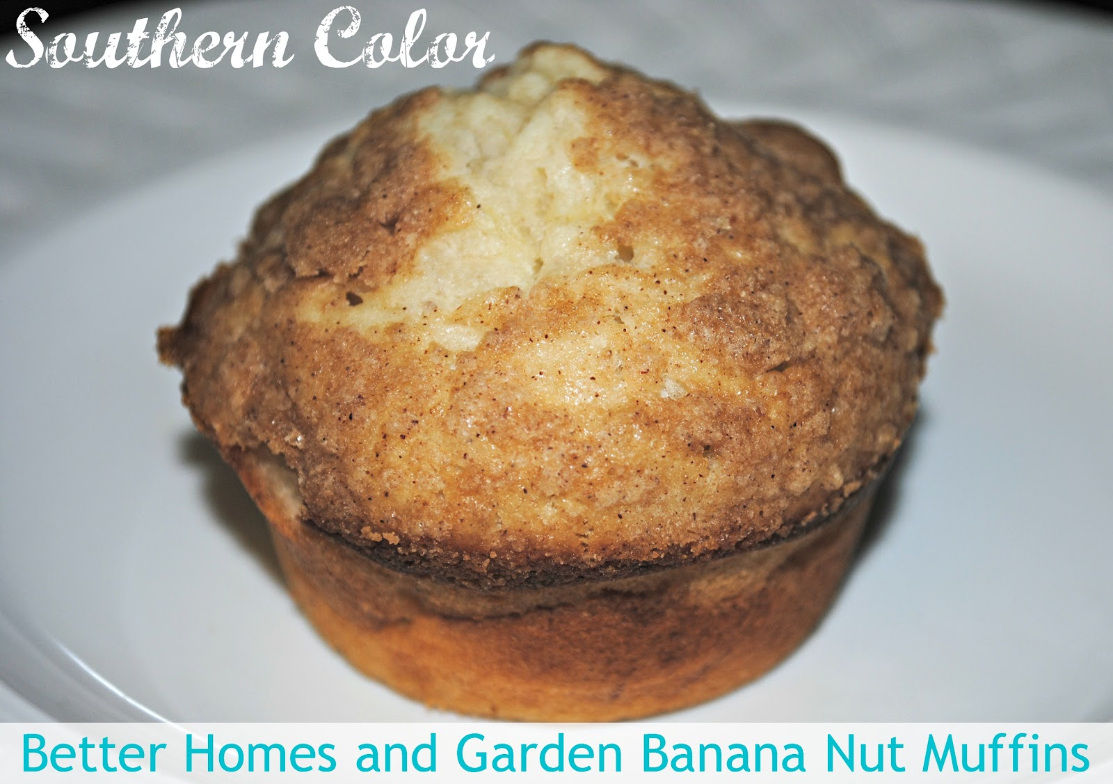 Southern Color Banana Nut Muffins Recipe