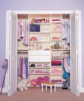 Decoraciones y mas elegantes y modernos closets para for Closet habitaciones modernas