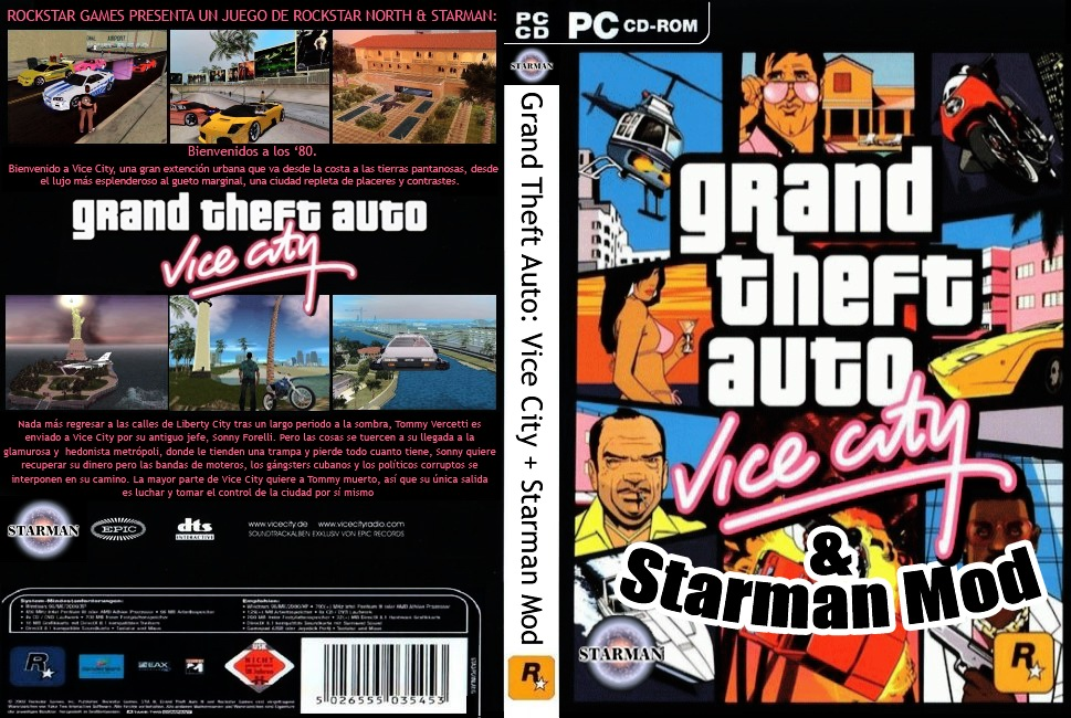 descargar starman mod para gta vice city pc