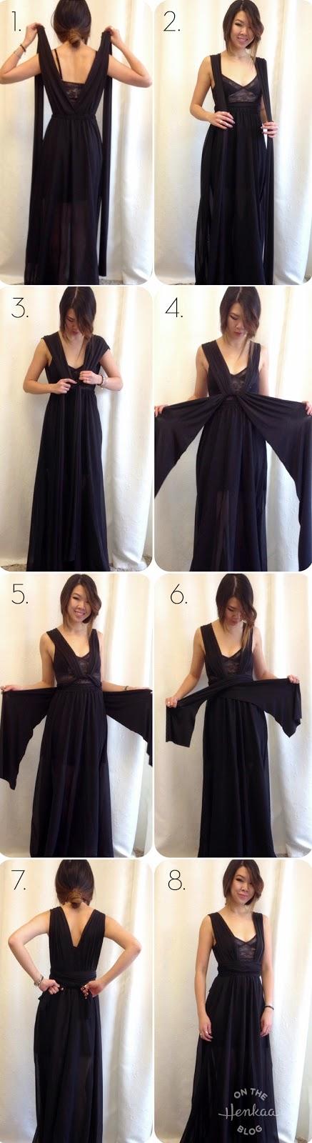 Transformar un vestido casual en uno formal