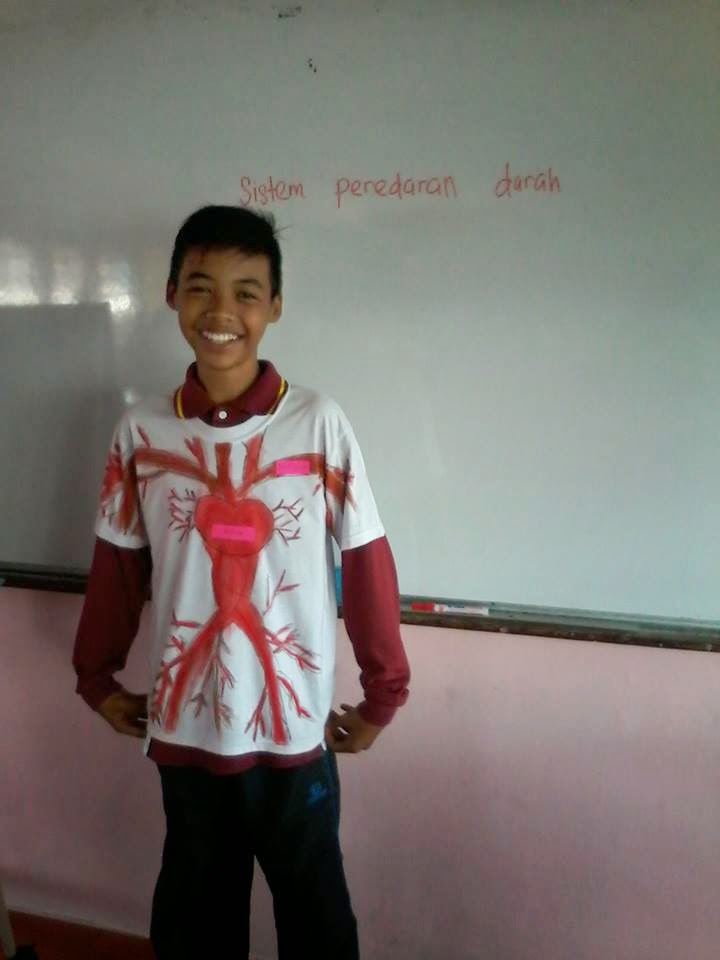 Idea P&P Sains : T-Shirt Sistem Manusia