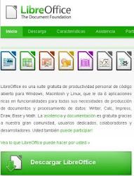 Descargar Libre Office