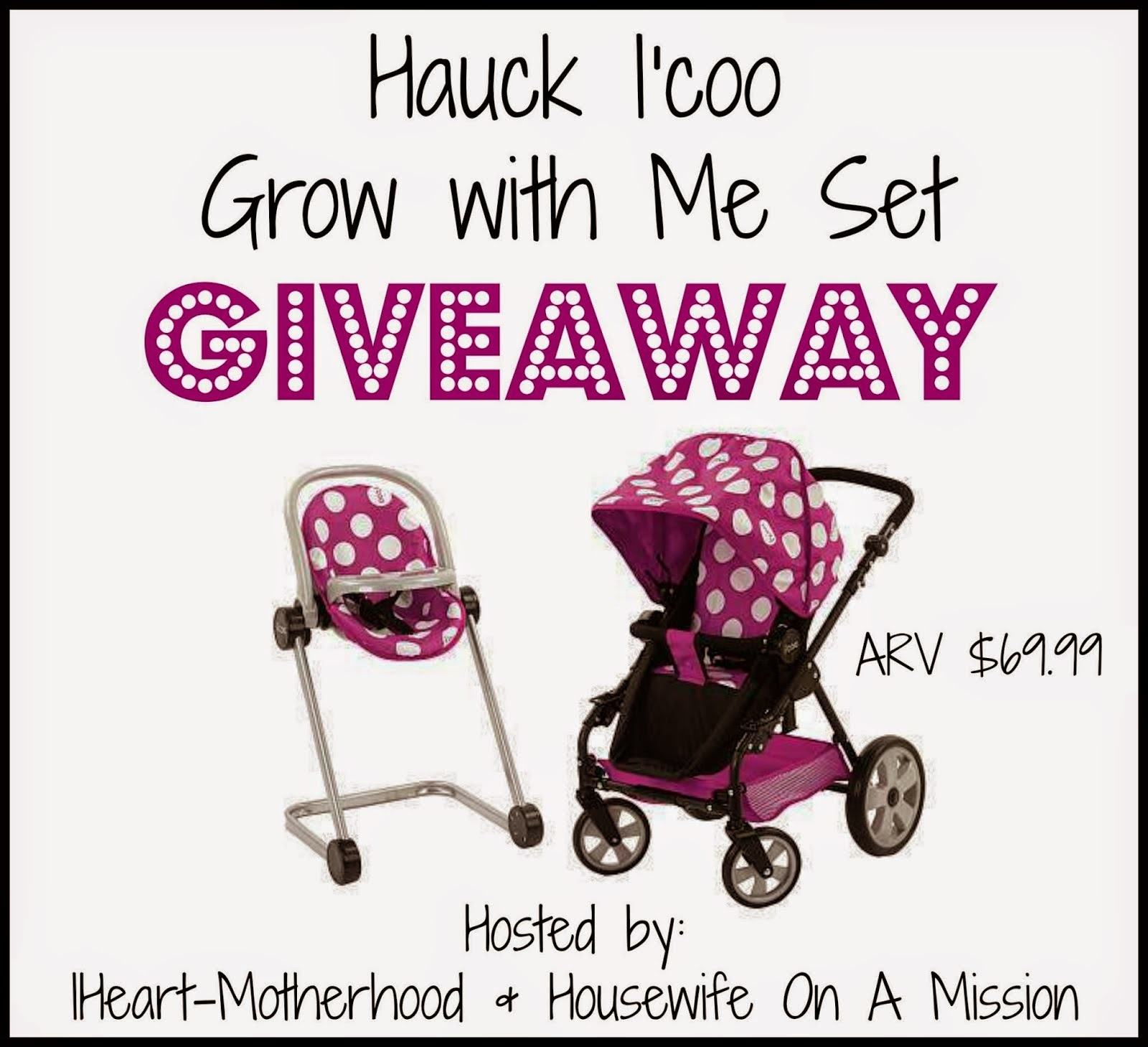 Hauck I'coo Grow with Me Giveaway